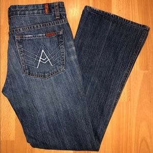7 For All Mankind A Pocket 29
